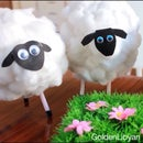 DIY Cute little Sheep ..