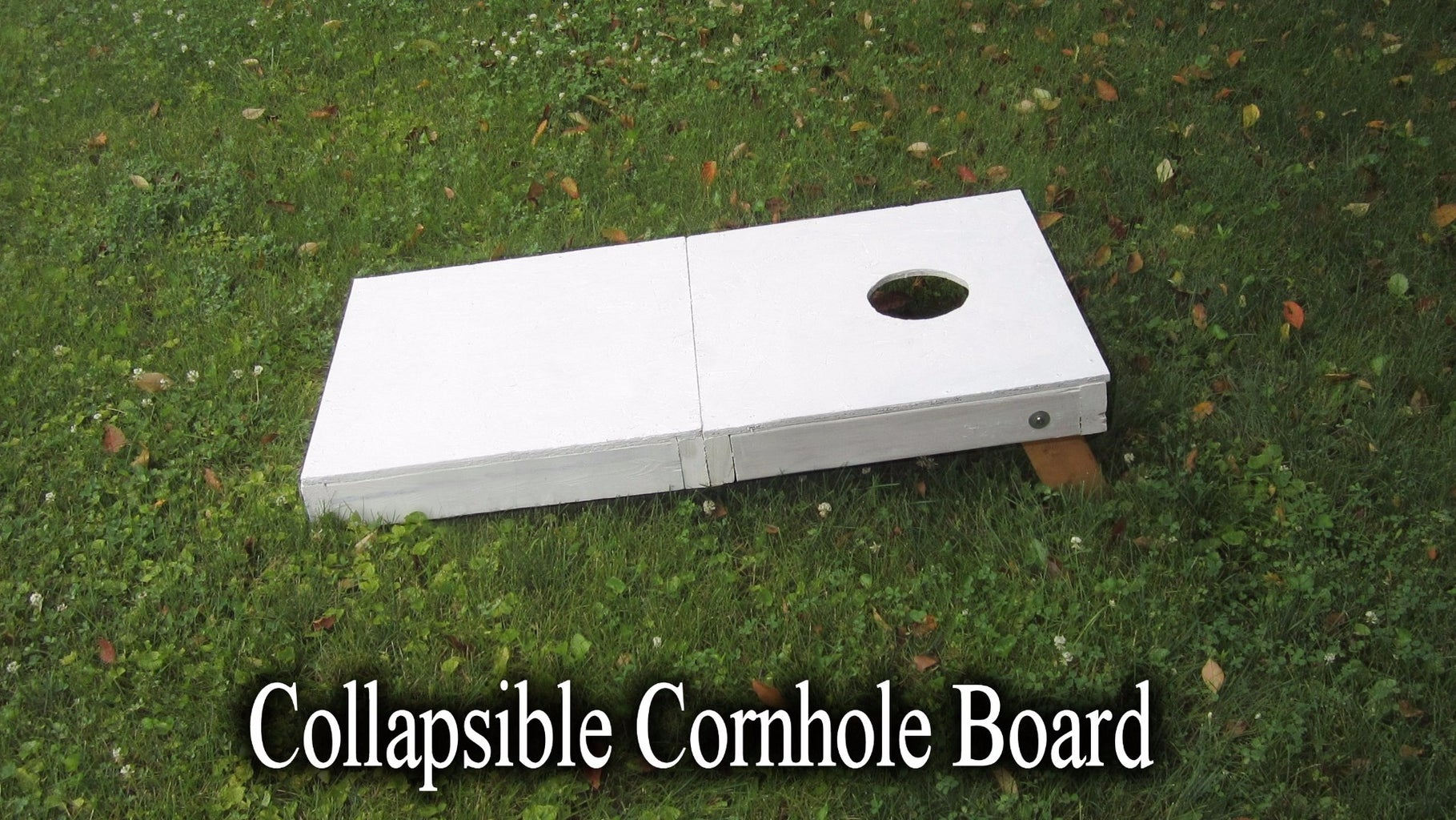Collapsible Cornhole Boards