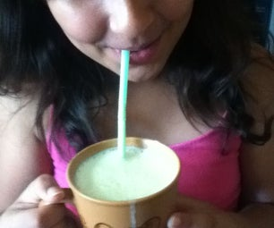 A Super-yummy Mango Milkshake