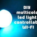 DIY Multicolor Led Light Controllable Wi-fi