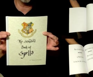 Magic Spell Book