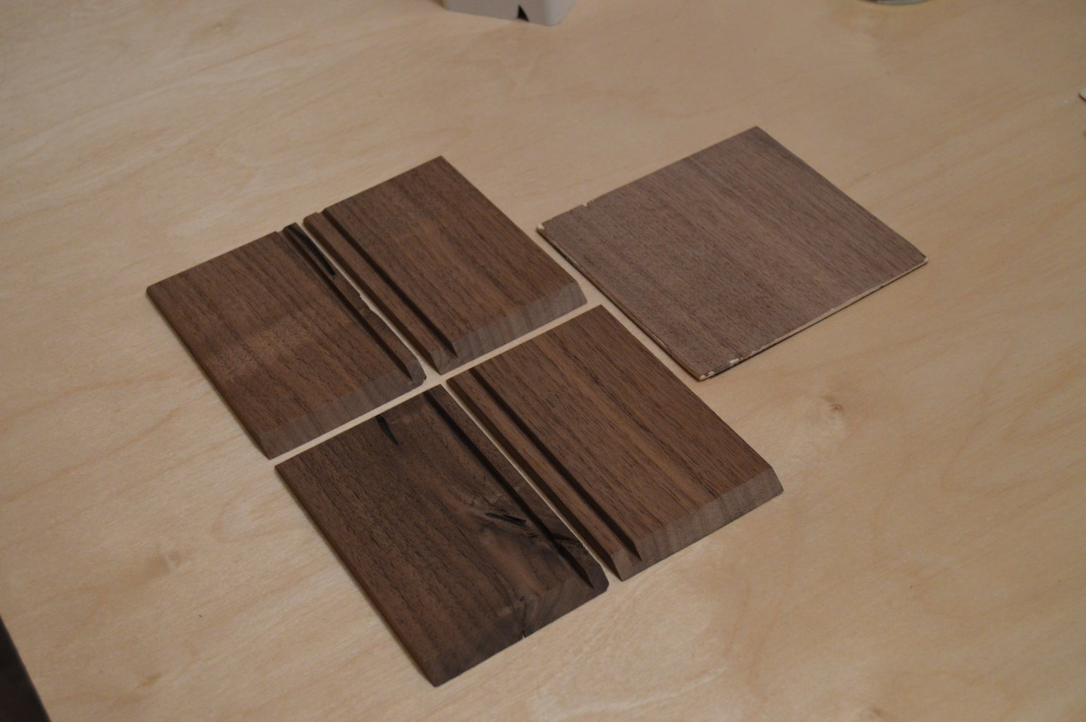 Cutting and Routing Sides