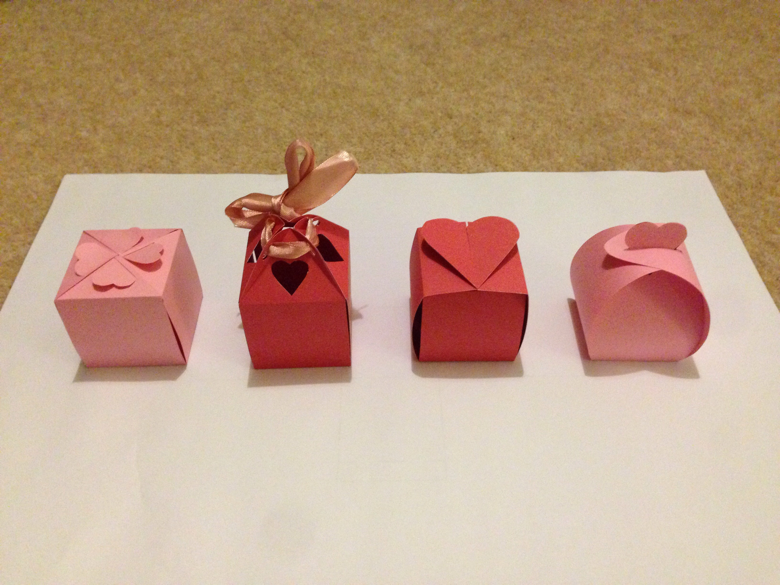 No Glue Valentines Boxes