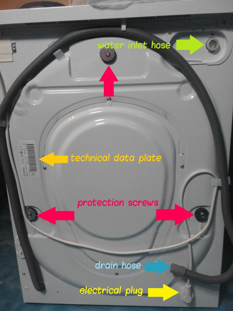 Unpacking and Checking the Details on Your Washing Machine