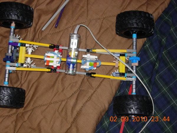 Knex 4x4 Crawler