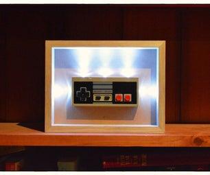 NES Controller Night Light V2