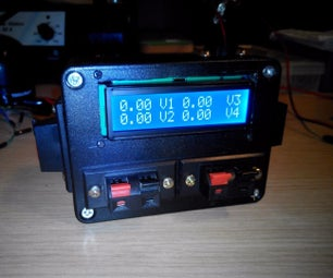 Multiple Voltmeter 0-50VDC