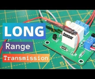 Long Distance Transmission System Circuit