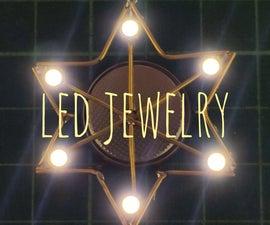Star Shaped LED Jewelry