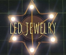Star Shaped LED Jewelry