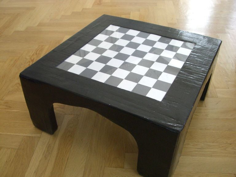 Chess Table Instruc Table 6 Steps With Pictures Instructables