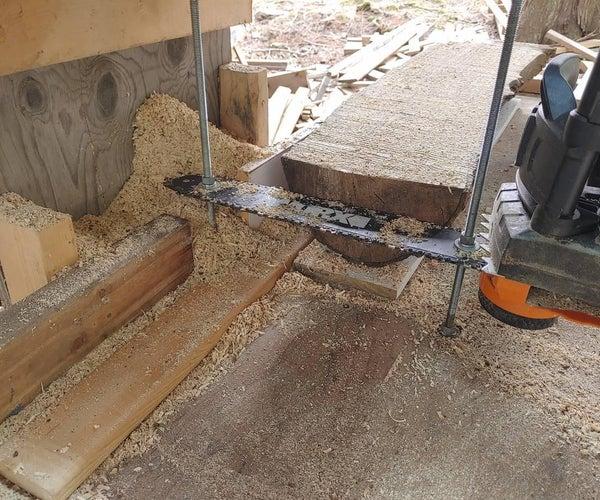 Electric Mini Sawmill