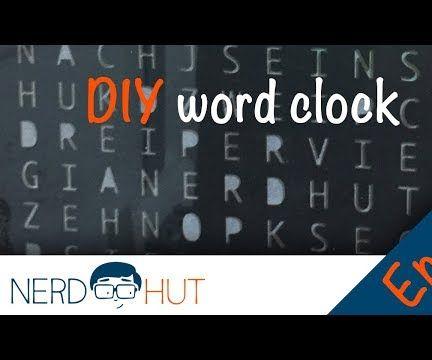 DIY Arduino Wordclock