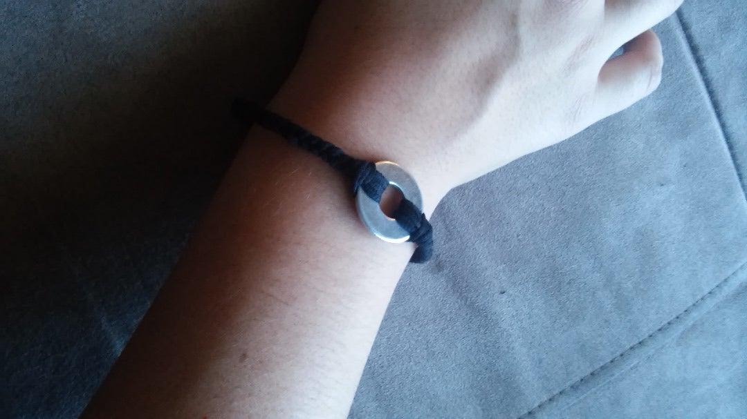 Simple Washer Bracelet