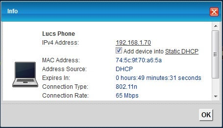 Find the IP Adresses of Mobile Phones