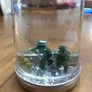 Snow Mason Jar (snow Globe in a Mason Jar)