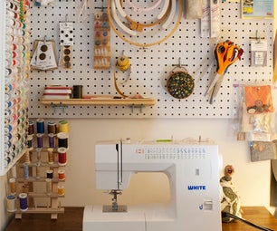 Closet Sewing Space
