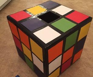 Rubik's Cube Valentine Box