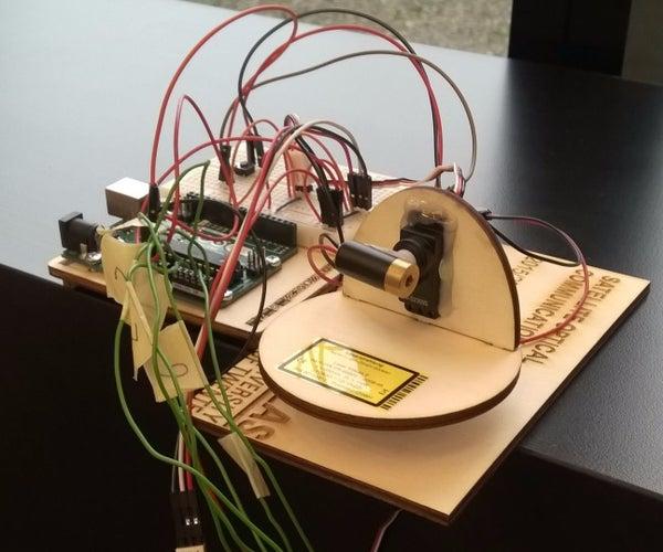 Building a Model for Satellite-Based Laser Communication