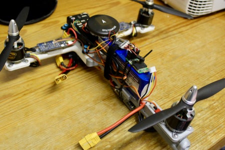 Wiring the Motors and Electronic Speed Controllers
