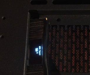 OLED GPU Temperature Display
