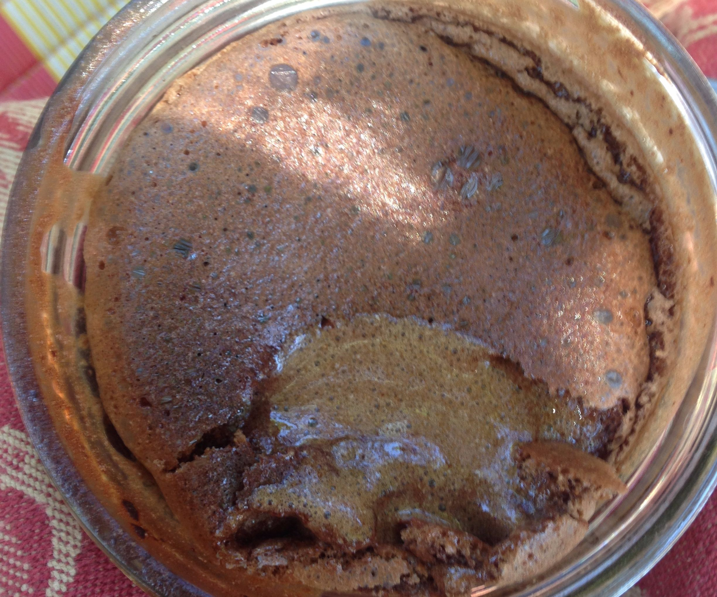 """Baked Chocolate """"Mousse"""""""