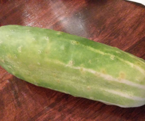 How to Cut Cucumbers for a Snack