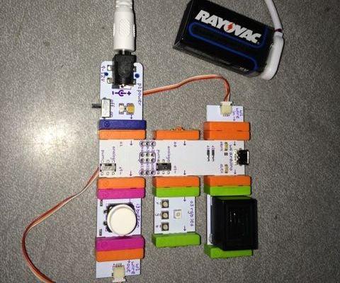 LittleBits Arduino Annoying Machine