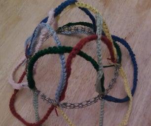 Crocheted Expandable Planter/Pot/Plate/Hat Holder