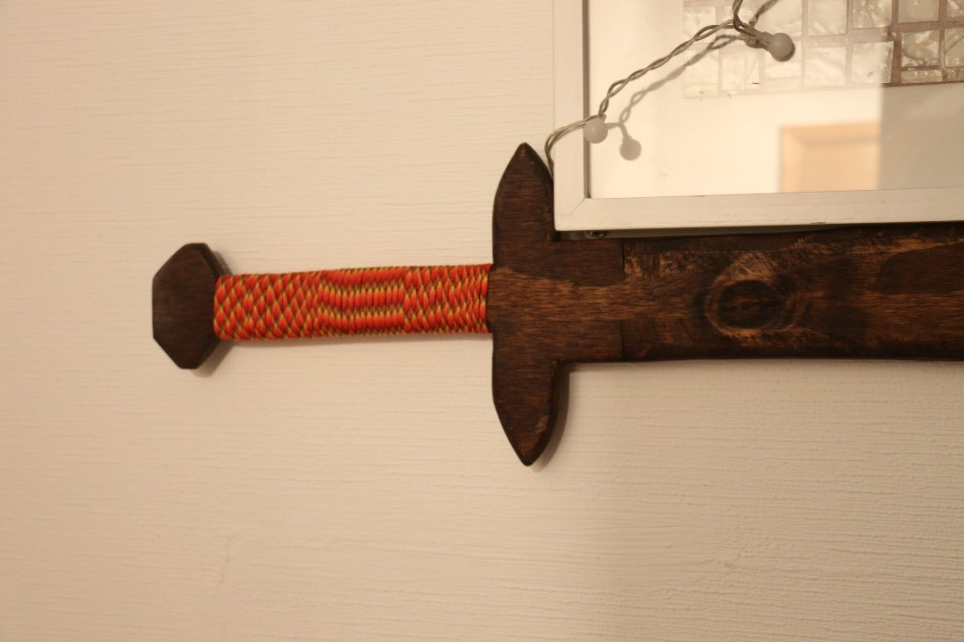 DIY Wooden Two Hands Sword