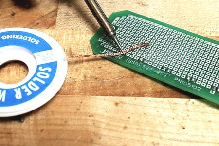 How to Use Desoldering Braid