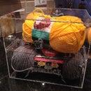 Acrylic yarn box