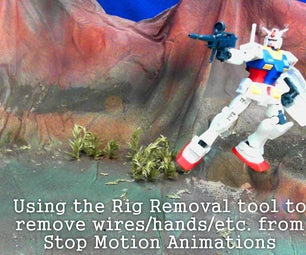 Using Rig Removal Tool in Stop Motion Pro 7