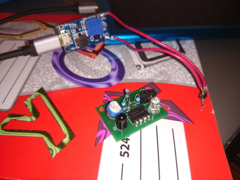 Детектор Уровня Света/ Light Level Detector