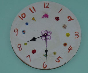 Make Your Own Designed Kid's Clock