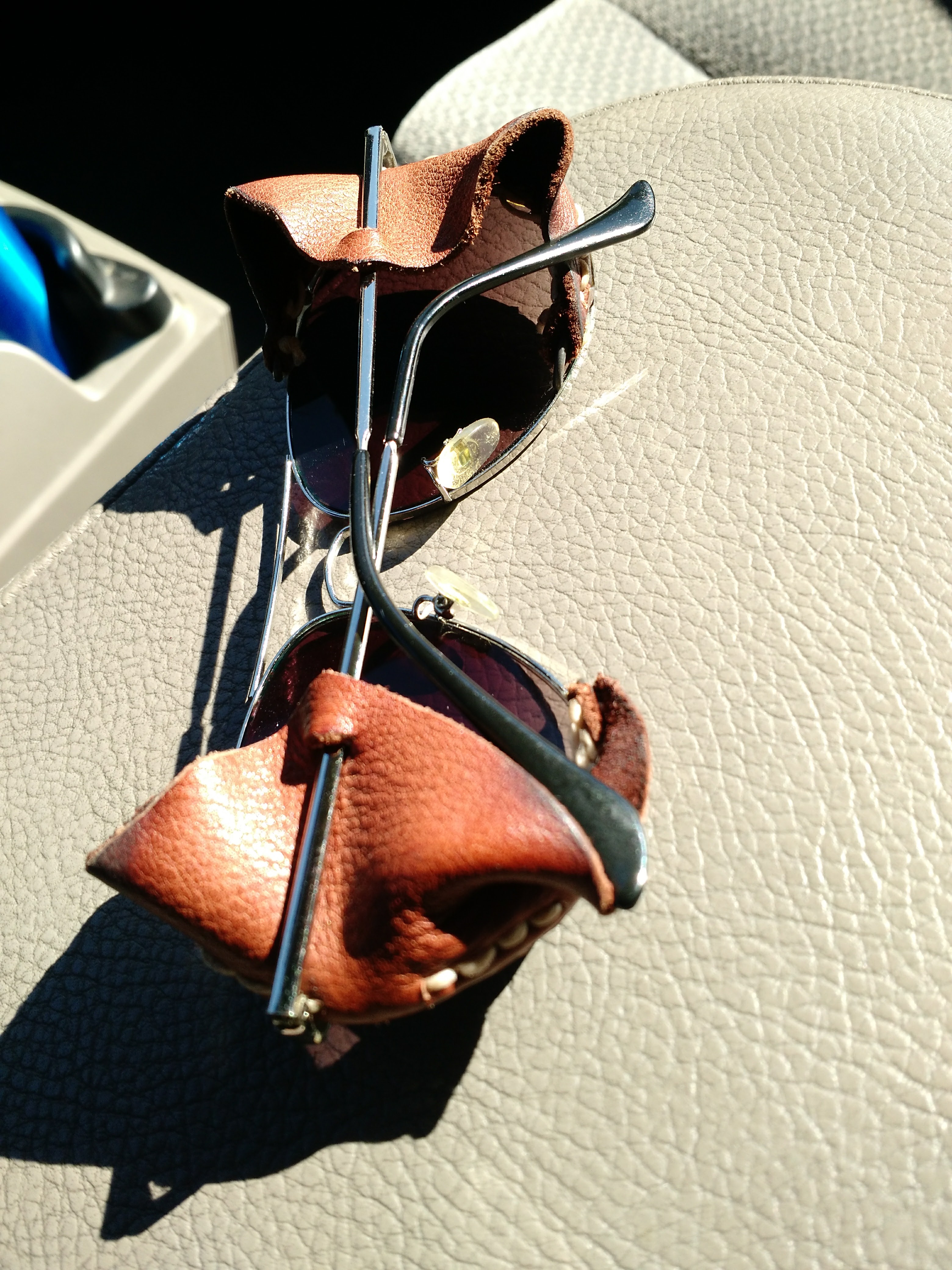 Leather Side Shields for Sunglasses