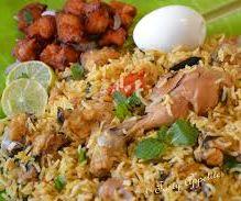 Chicken Briyani (indian)