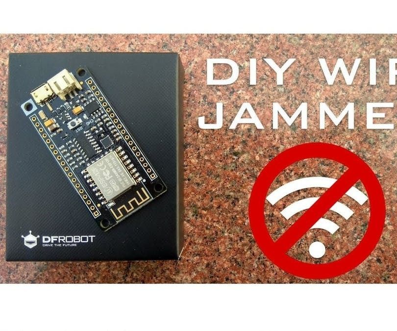 Wi-Fi Jammer From an ESP8266 | WiFi Jammer/ Deauther