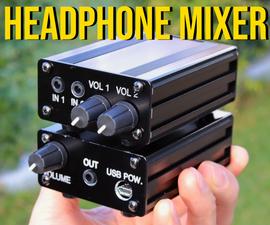 音频混音器 - 两个设备成一个耳机