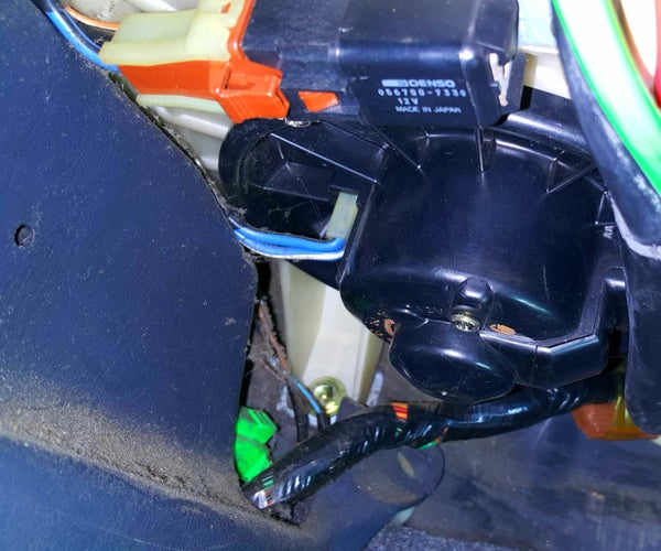 Replacing a Car's Hvac Blower Fan.
