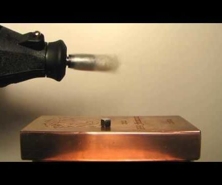 Magnetic Induction Levitation via Spinning Magnetic Field