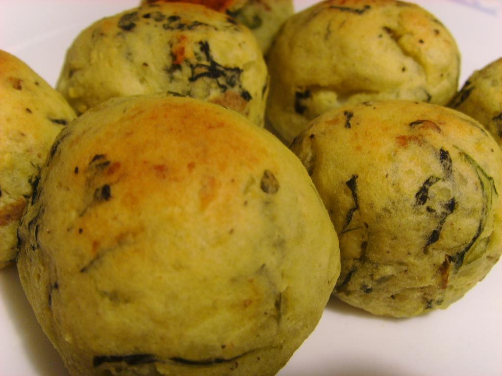 Vegan Potato & Spinach Balls -- Fat Free