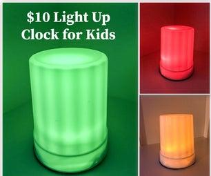 为孩子们点亮时钟-绿色意味着开始!瑞德,呆在床上!!!
