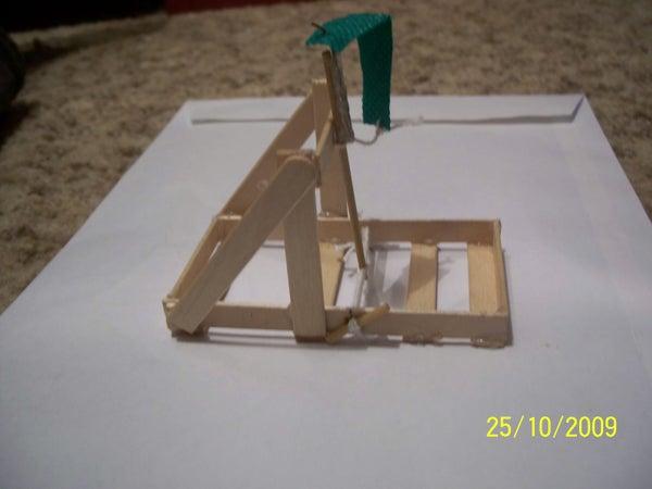 Desktop Popstick Catapult