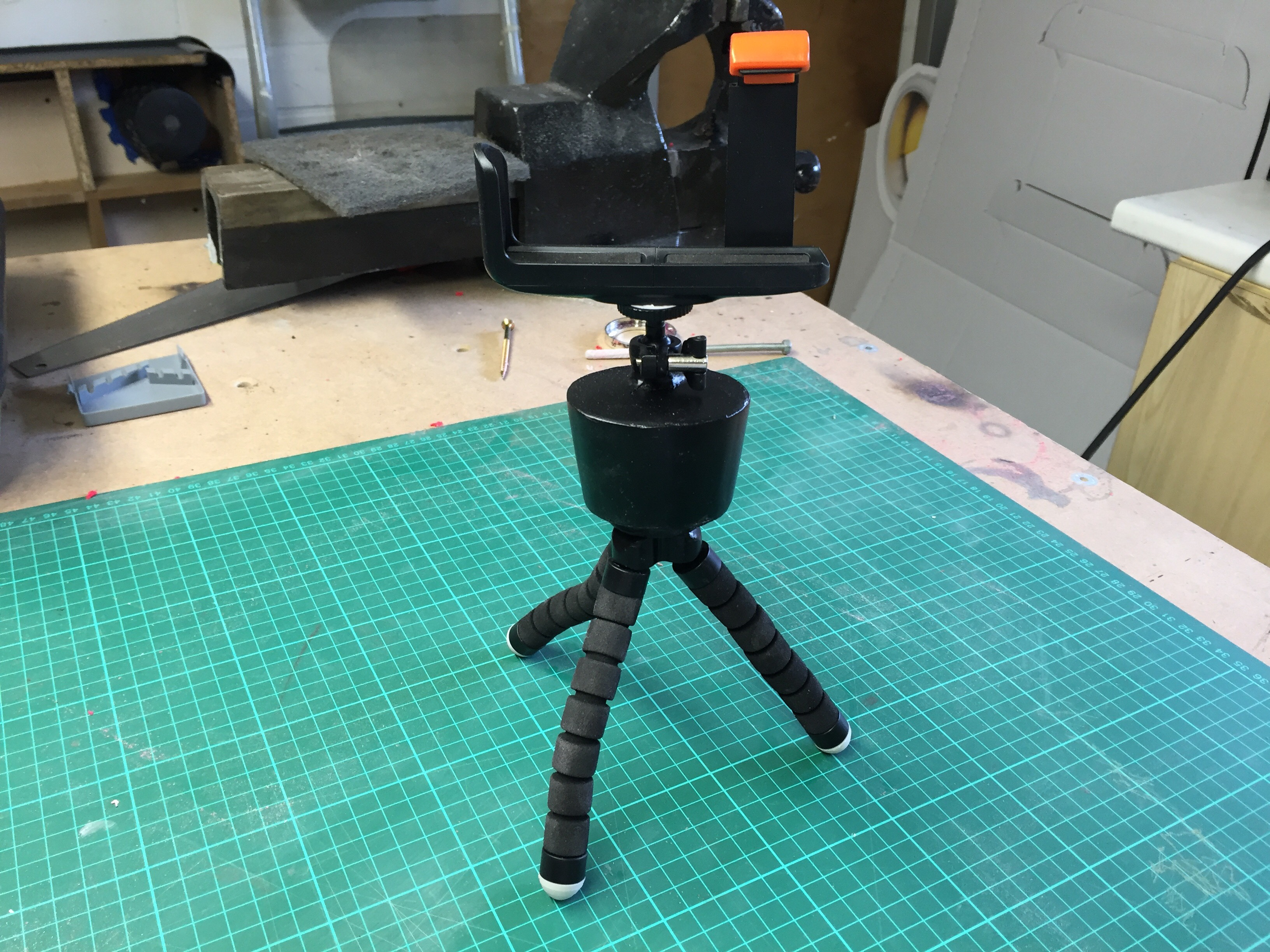 Cooking Timer Timelapse Tripod