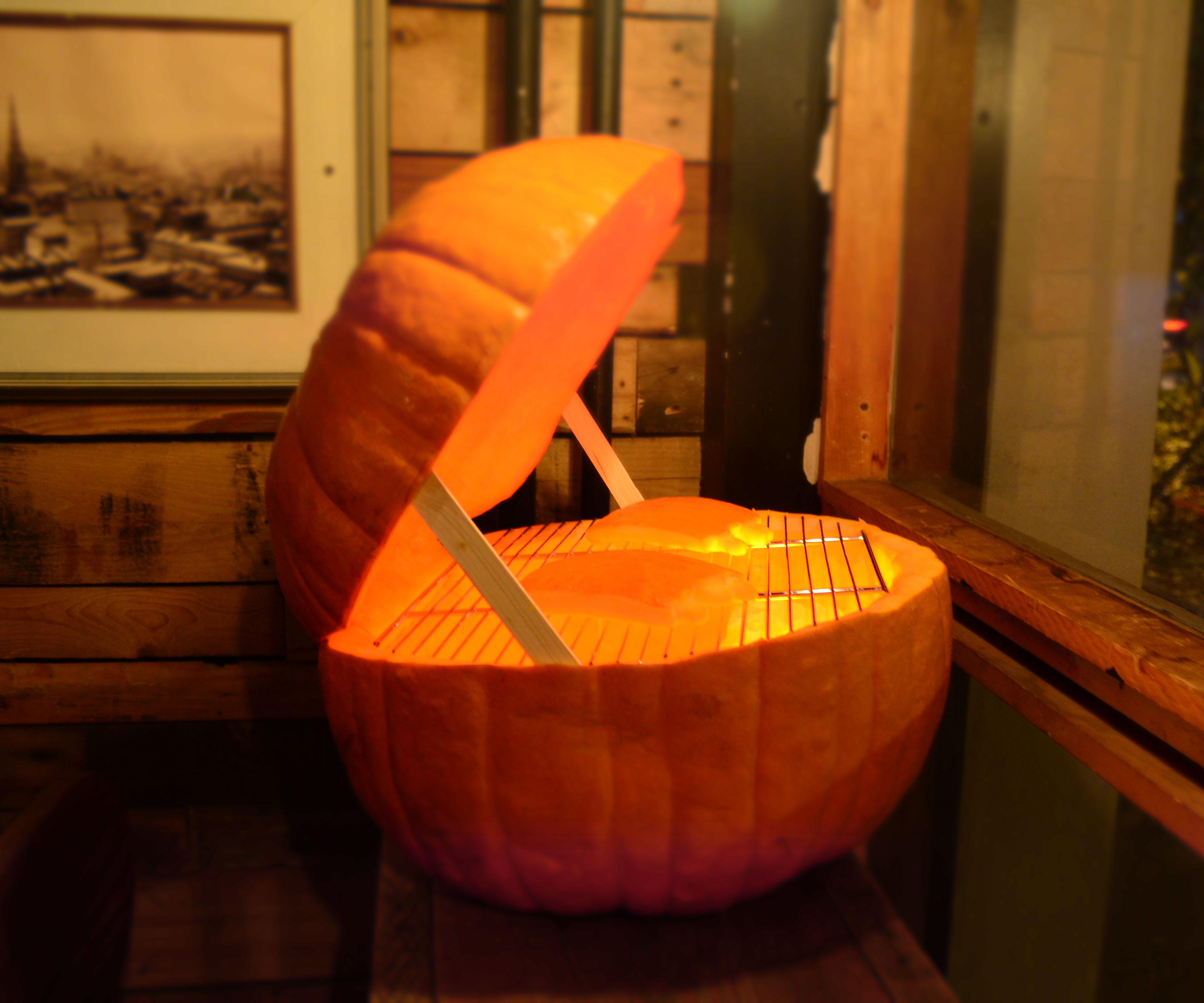 Smoking Pumpkin BBQ