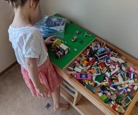 IKEA Trofast LEGO Table Conversion