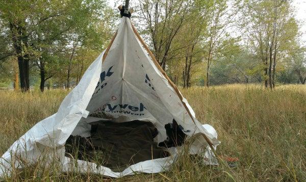 Tyvek Tarp Tent and Ground Cloth