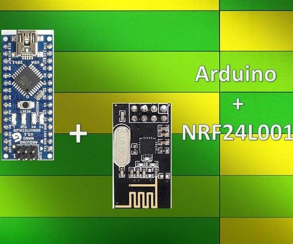 Wireless Remote Using 2.4 Ghz NRF24L01 : Simple Tutorial Using of NRF24L01 & Arduino