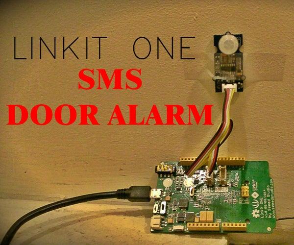 LinkIt One Texting Door Alarm